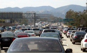 Traffic on the 405